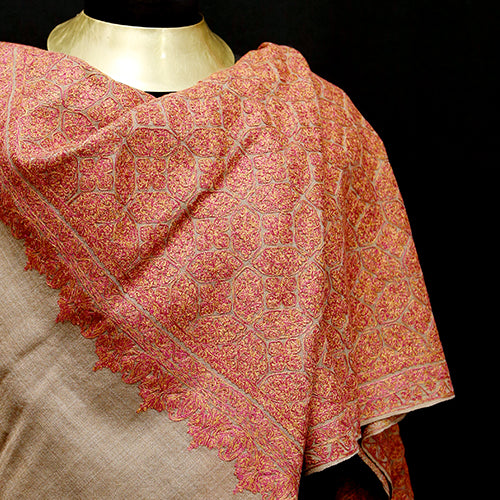 The Ruby Cashmere Shawl