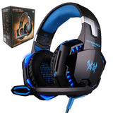 Gaming Headset  Stereo Surrounded Sound Deep Bass Over-Ear Gaming Headphone With Mic