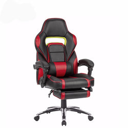 gaming Chair with Padded Footrest