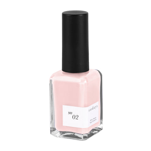 Vegan, 10-Free and Nontoxic Nail Polish No. 02 - sundays studio