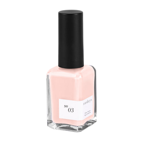 Vegan, 10-Free and Nontoxic Nail Polish No. 03 - sundays studio