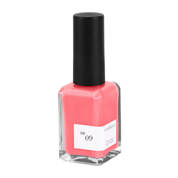 Vegan, 10-Free and Nontoxic Nail Polish No. 09 - sundays studio