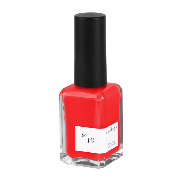 Vegan, 10-Free and Nontoxic Nail Polish No. 13 - sundays studio