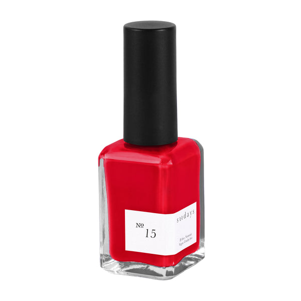 Vegan, 10-Free and Nontoxic Nail Polish No. 15 - sundays studio