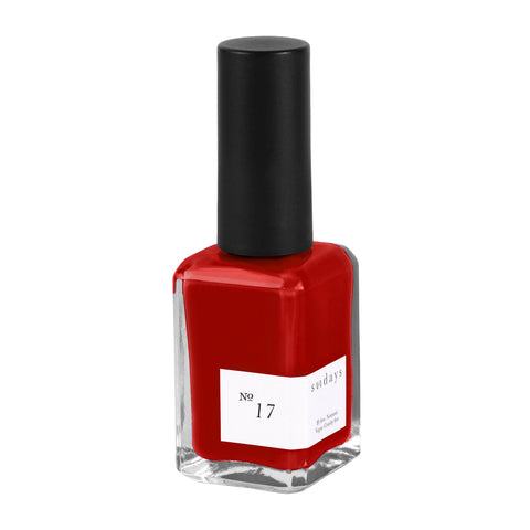 Vegan, 10-Free and Nontoxic Nail Polish No. 17 - sundays studio