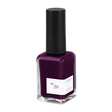 Vegan, 10-Free and Nontoxic Nail Polish No. 20 - sundays studio