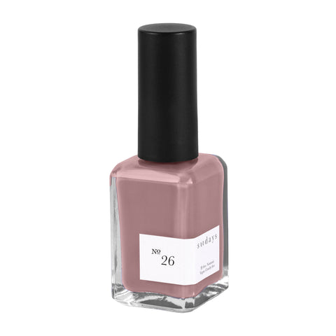 Vegan, 10-Free and Nontoxic Nail Polish No. 26 - sundays studio