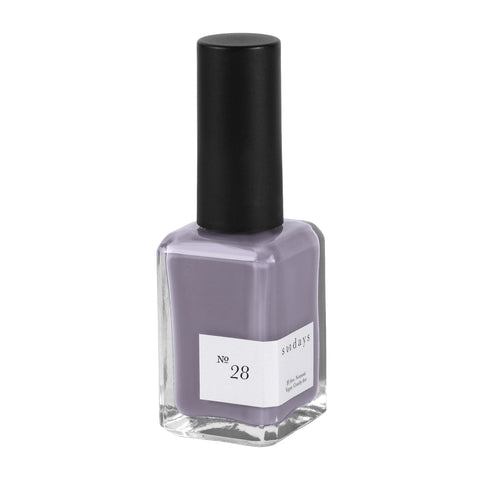 Vegan, 10-Free and Nontoxic Nail Polish No. 28 - sundays studio