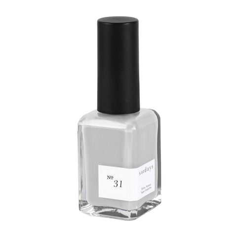 Vegan, 10-Free and Nontoxic Nail Polish No. 31 - sundays studio