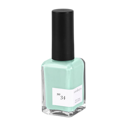 Vegan, 10-Free and Nontoxic Nail Polish No. 34 - sundays studio