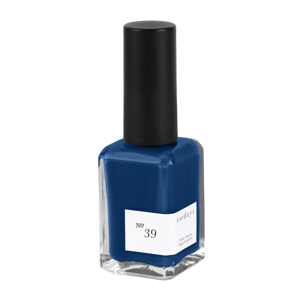 Vegan, 10-Free and Nontoxic Nail Polish No. 39 - sundays studio