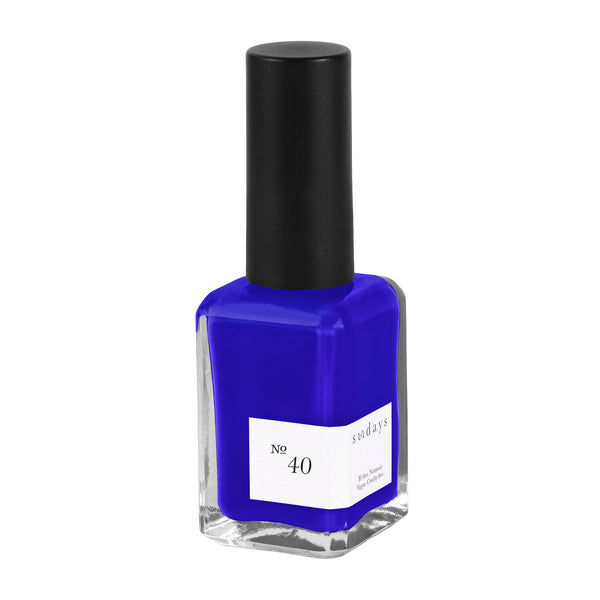 Vegan, 10-Free and Nontoxic Nail Polish No. 40 - sundays studio