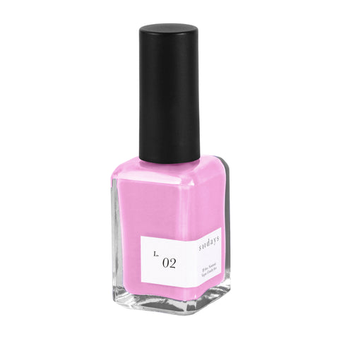 Vegan, 10-Free and Nontoxic Nail Polish L. 02 - sundays studio