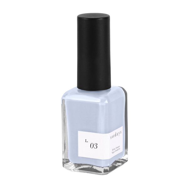 Vegan, 10-Free and Nontoxic Nail Polish L. 03 - sundays studio