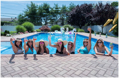 Bachelorette Pool Party / Brightwaters, Long Island