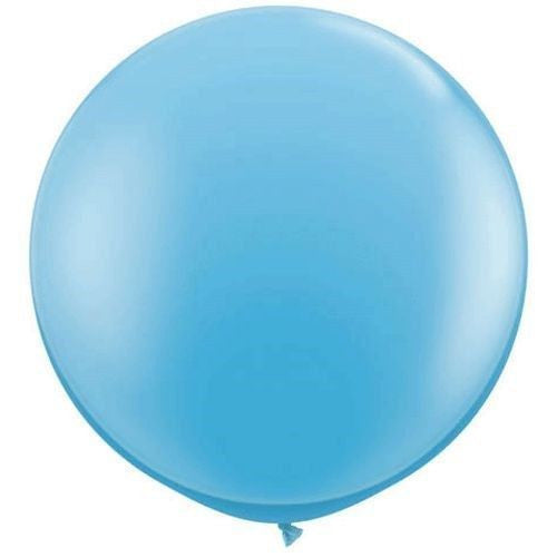 "36"" baby blue balloon, baby shower"