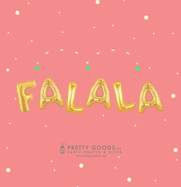 FALALA Christmas Balloon Decor