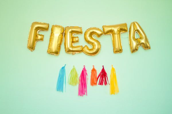 Mexican party balloons, Balloons FIESTA