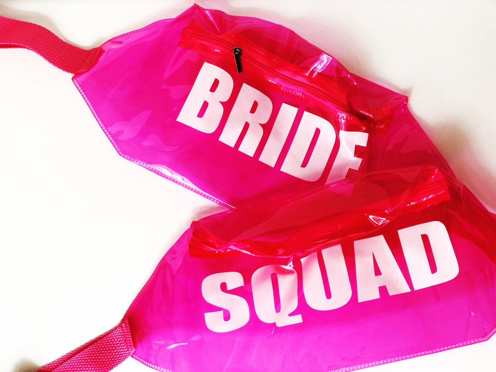 Bride + Squad Pink Fanny Pack