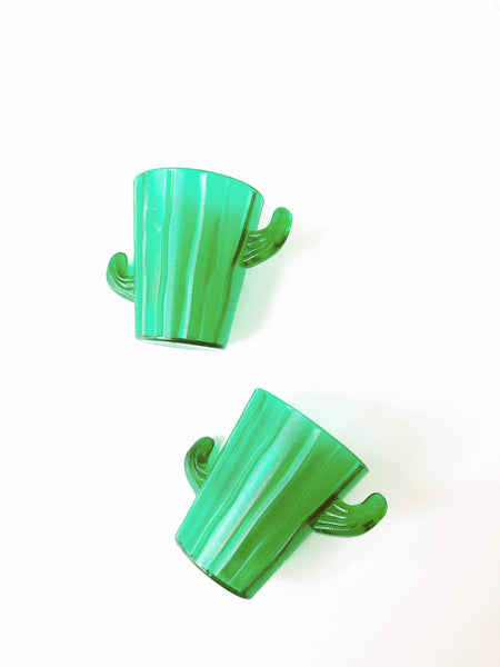 Final Fiesta Cactus Plastic Shot Glasses (dozen)