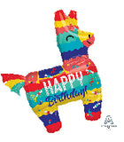 Final Fiesta Donkey Piñata Balloon