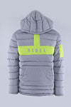 Grey Rebel Mind Anorak Puffer Jacket 192-570