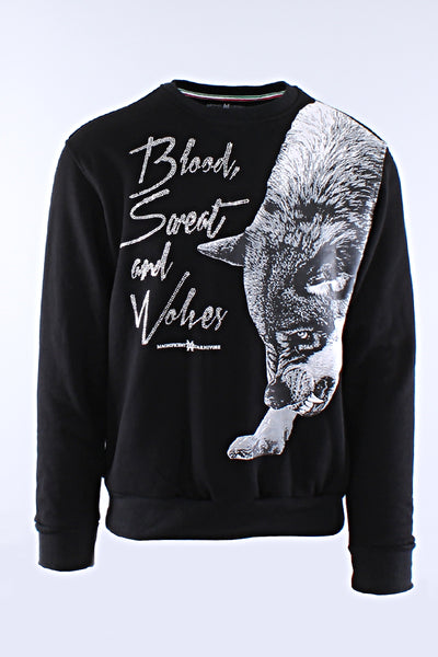 MICHAEL CHERRY BLOOD SWEAT & WOLVES SWEATSHIRT