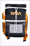 Black Roku Studio NASA Duffle Backpack RK7480052
