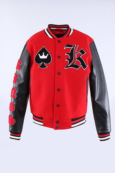 Red Hudson Kings Varsity Jacket H6052766