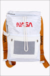 White Roku Studio NASA Duffle Backpack RK7480052