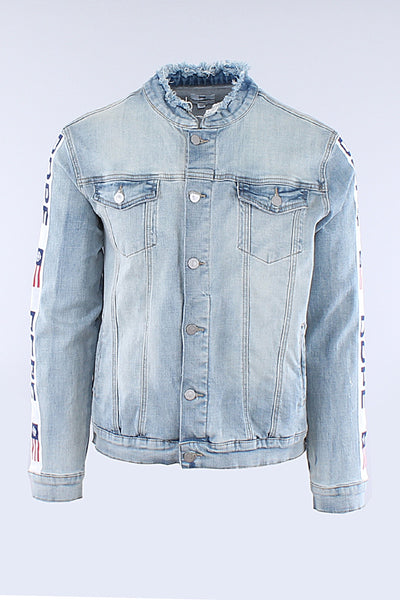 Light Blue F1 Denim Jacket