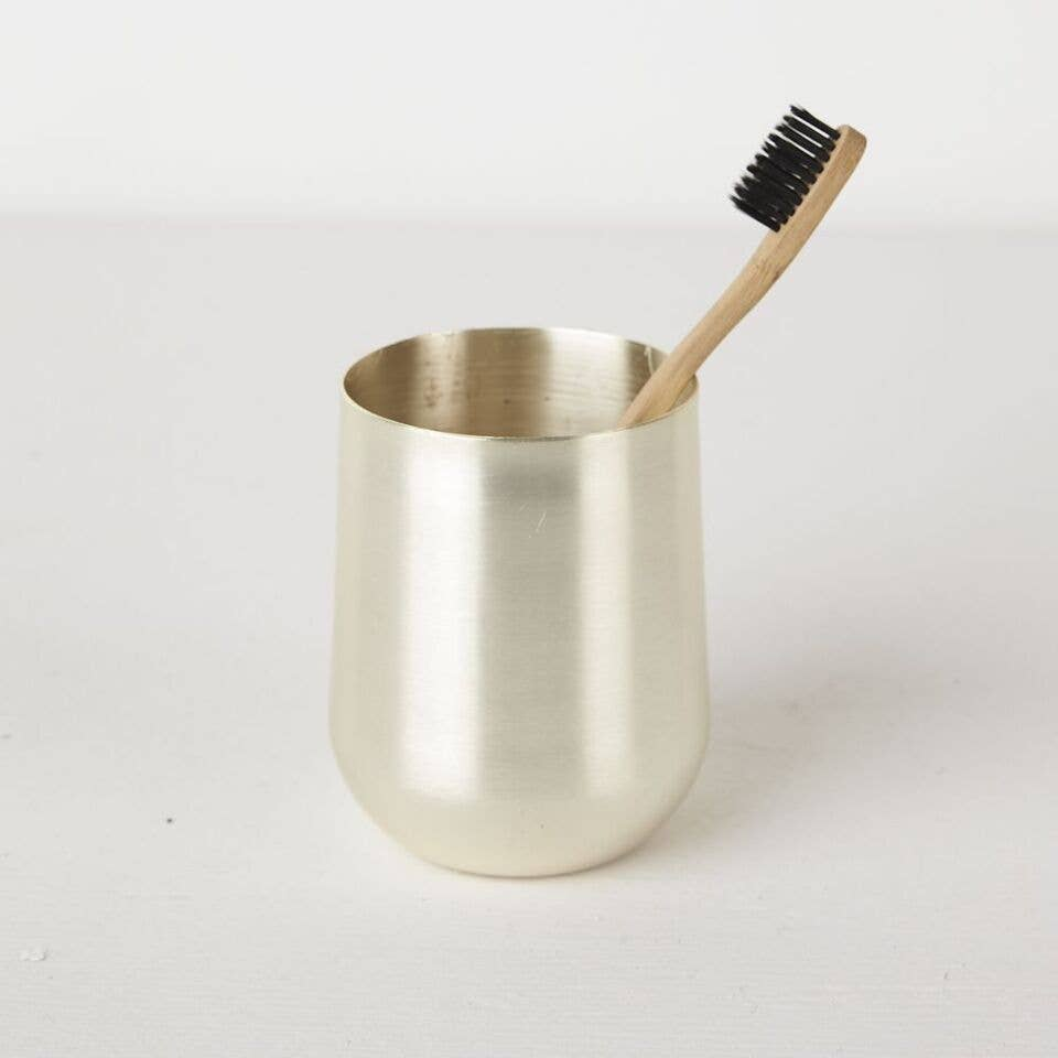 Lale Toothbrush Holder Silver