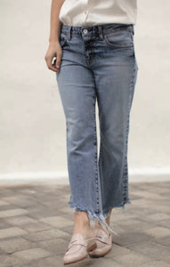 Fray Bottom Denim