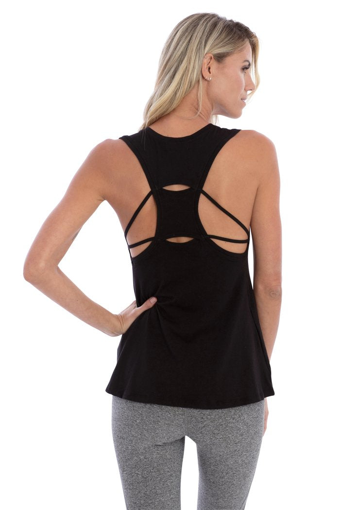 Key-Hole Strappy Tank