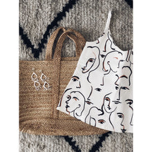 Load image into Gallery viewer, Woven Tote Bag
