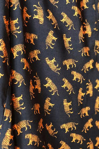 Ribbons Blouse - Tigers