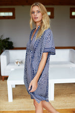 Emerson Caftan - Short Caftan - Ink