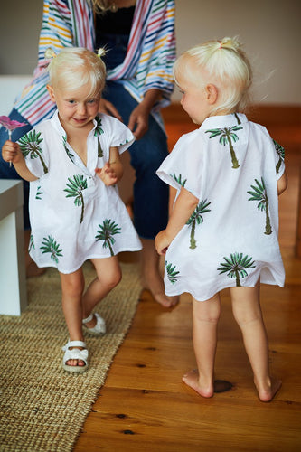 Small Fry Caftan - Palms