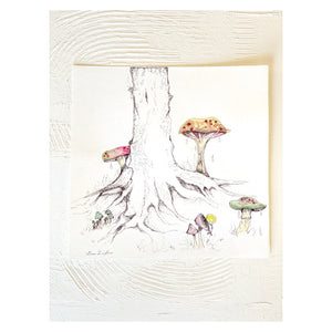 pen and ink woods