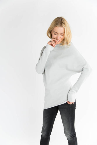 Asymmetric Tunic Sweater