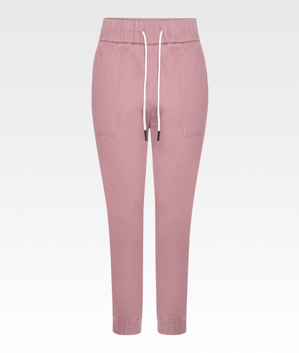 Corinth Pant in Ash Rose