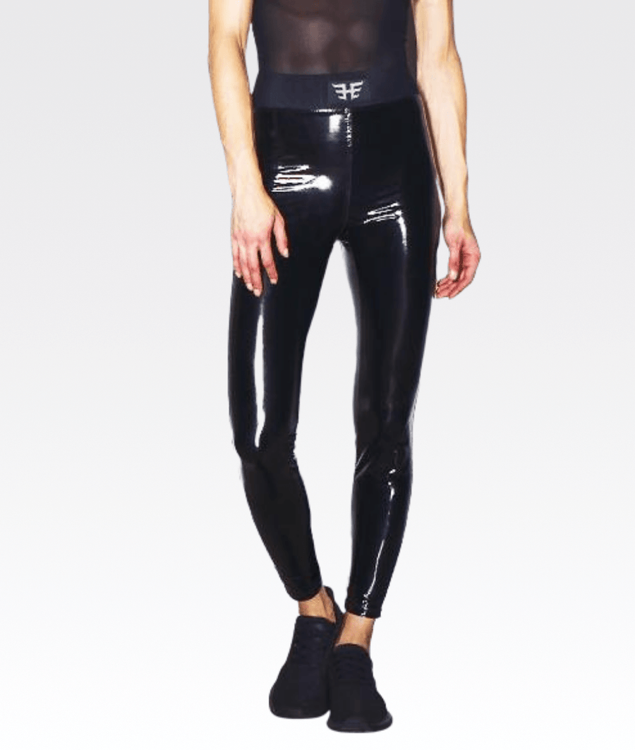 Downtown Legging in Black Patent