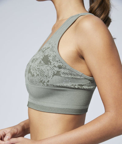 Perkins Sports Bra in Rock Ridge