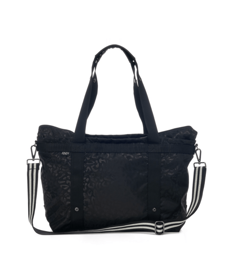 The ANDI Bag in Black Leopard