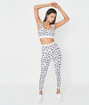 7/8 Cova White Cheetah Legging
