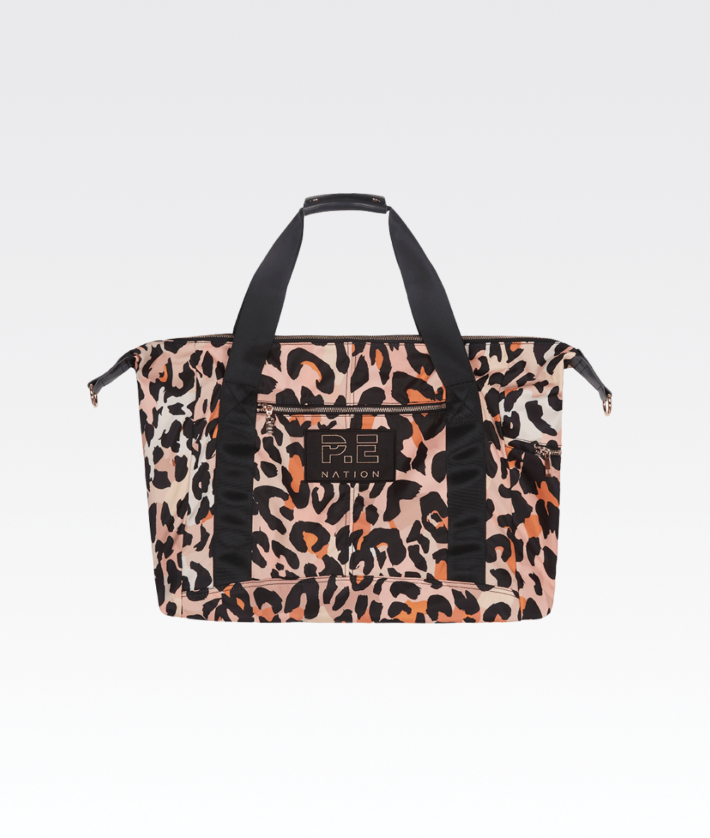 Set Shot Gym Bag in Leopard Print