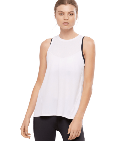 Kendall Tank in White