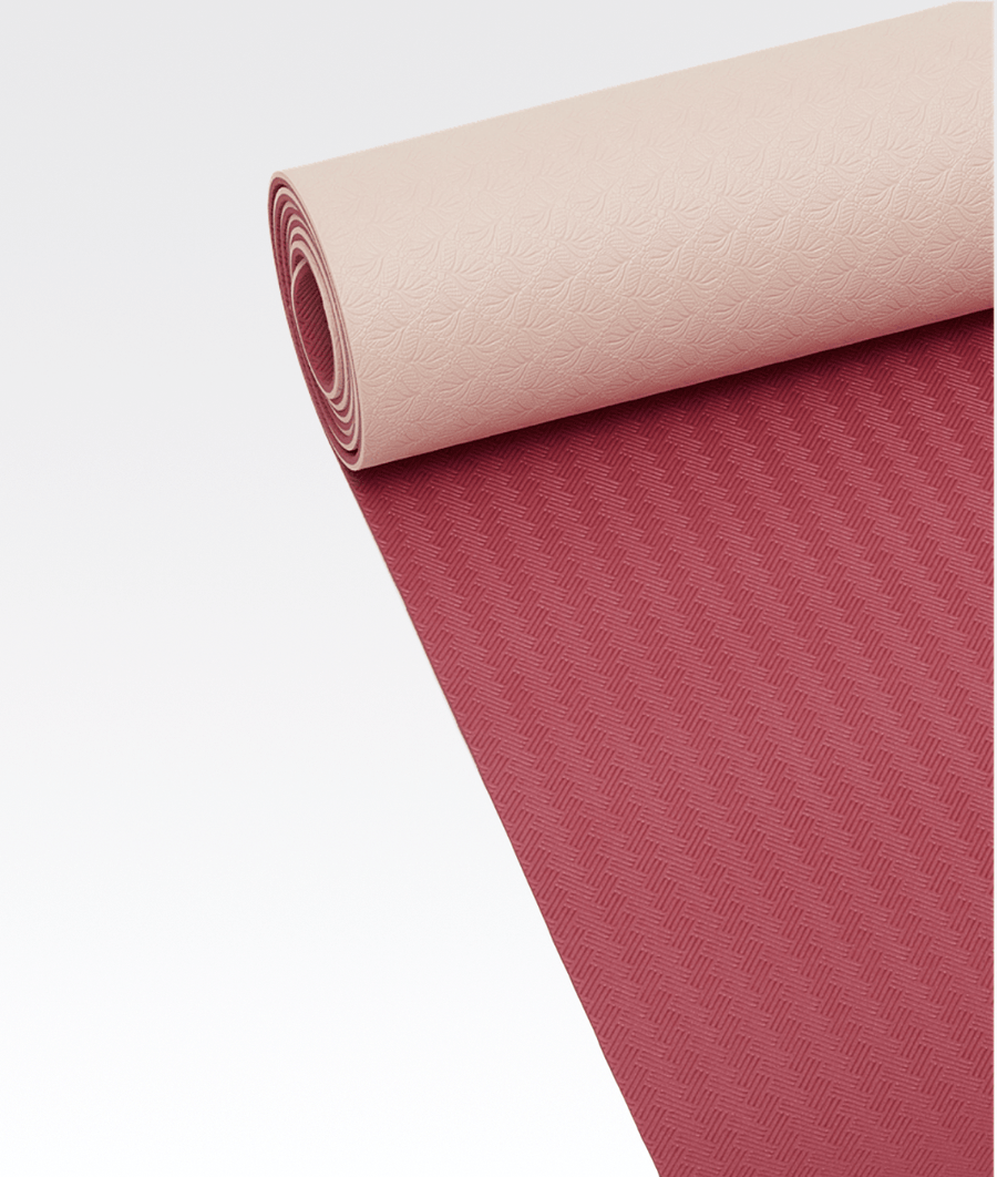 Position Yoga Mat 4mm Pink/Red