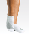 Heavy Metal Grip Sock White