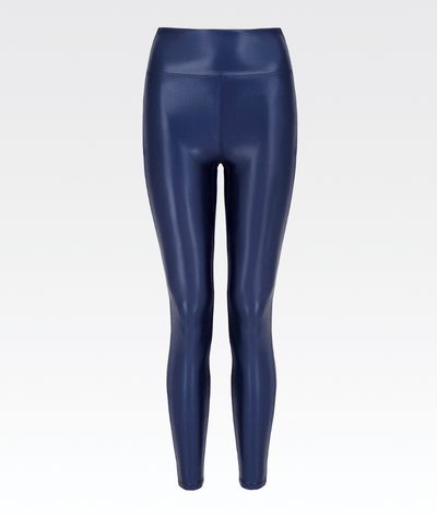Barre Legging in Satin Navy